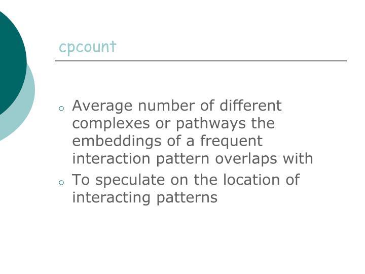 cpcount