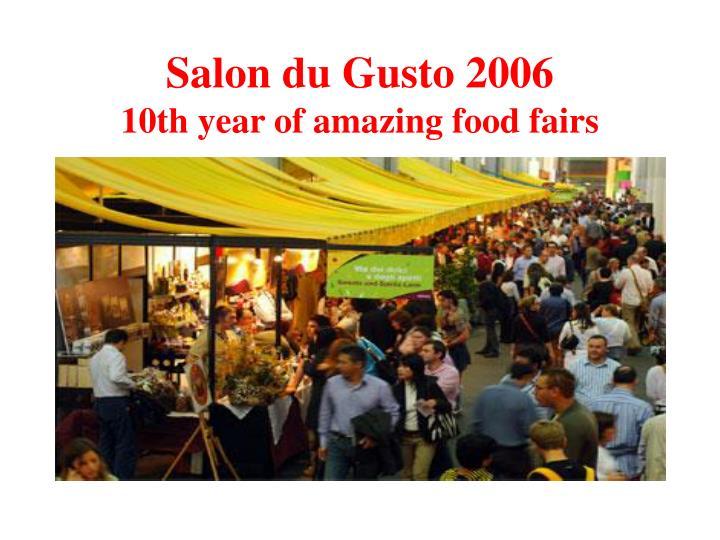 Salon du Gusto 2006