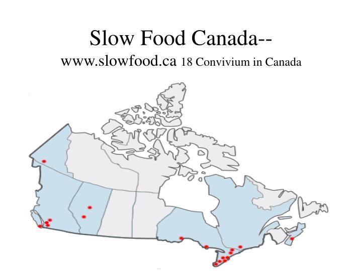 Slow Food Canada--
