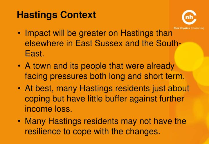 Hastings Context