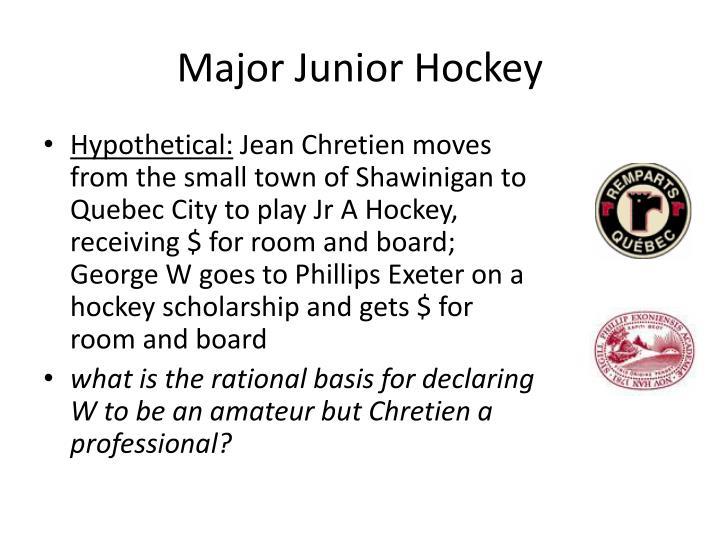 Major Junior Hockey