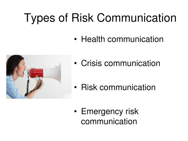 Types of Risk Communication