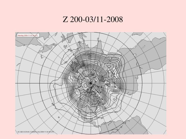 Z 200-03/11-2008