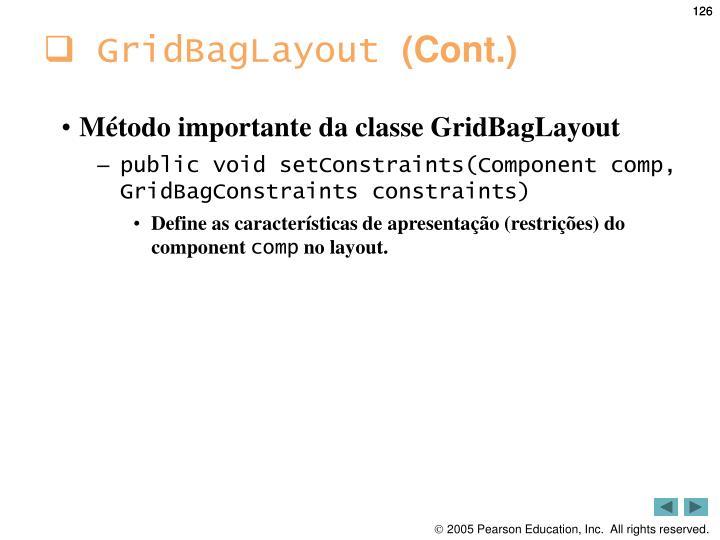 GridBagLayout