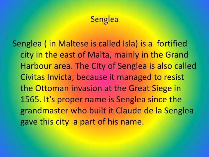 Senglea