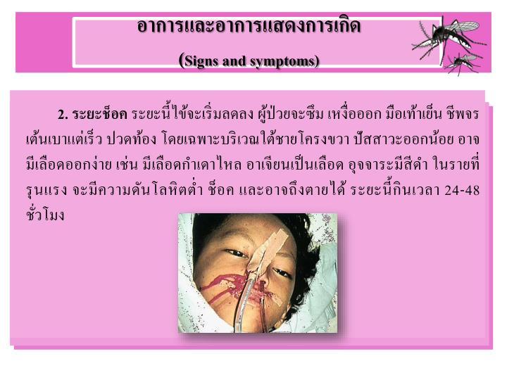 อาการและอาการแสดงการเกิด