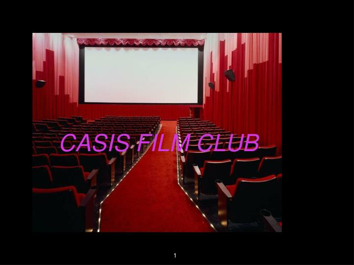 Casis film club