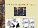 mccain feingold bcra 2002