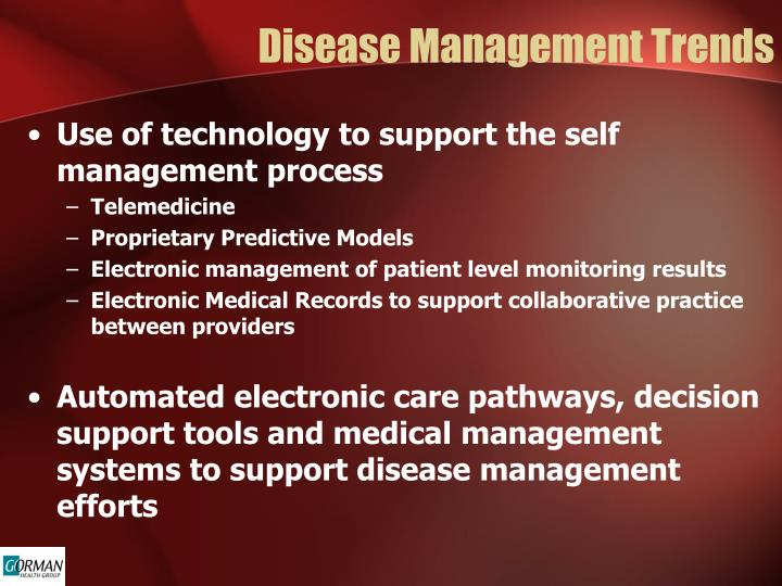 Disease Management Trends