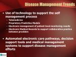 disease management trends