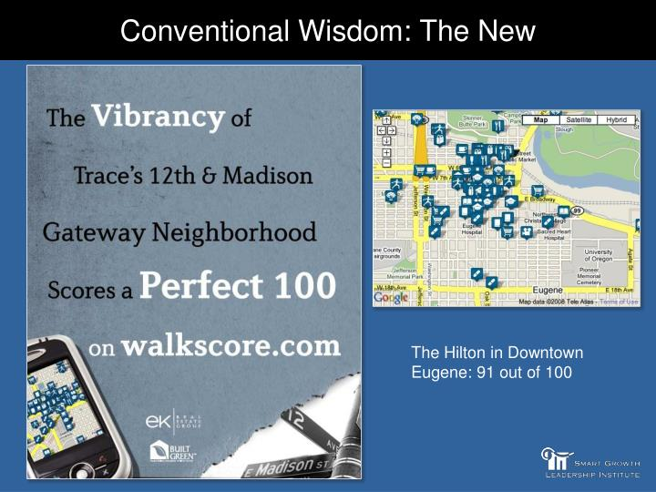 Conventional Wisdom: The New
