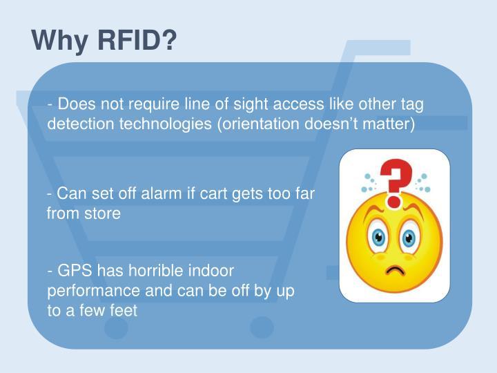 Why RFID?