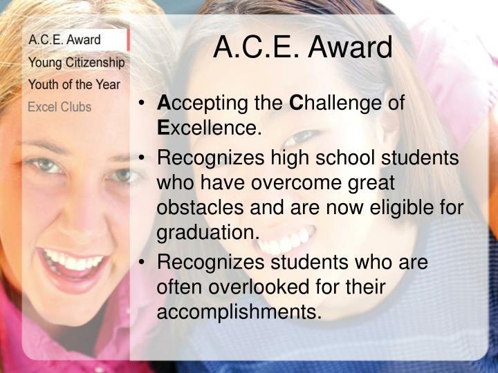 A.C.E. Award