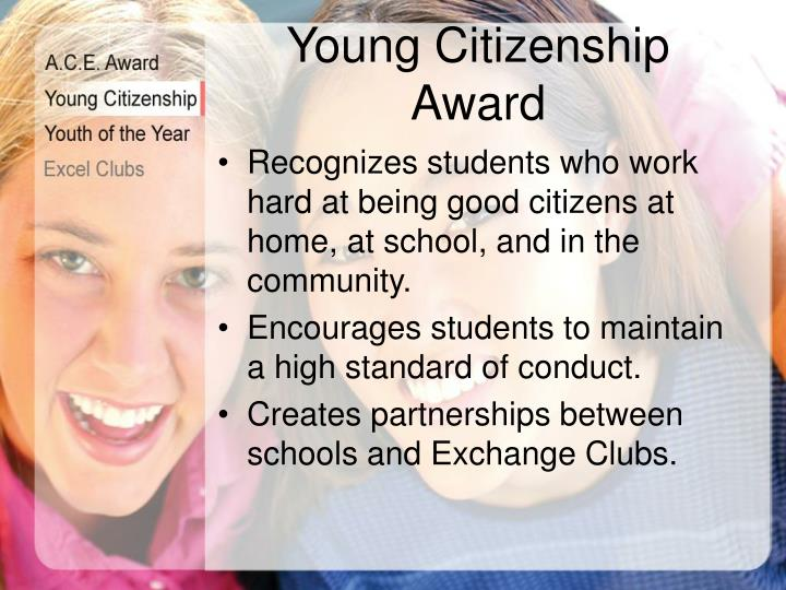 Young Citizenship Award