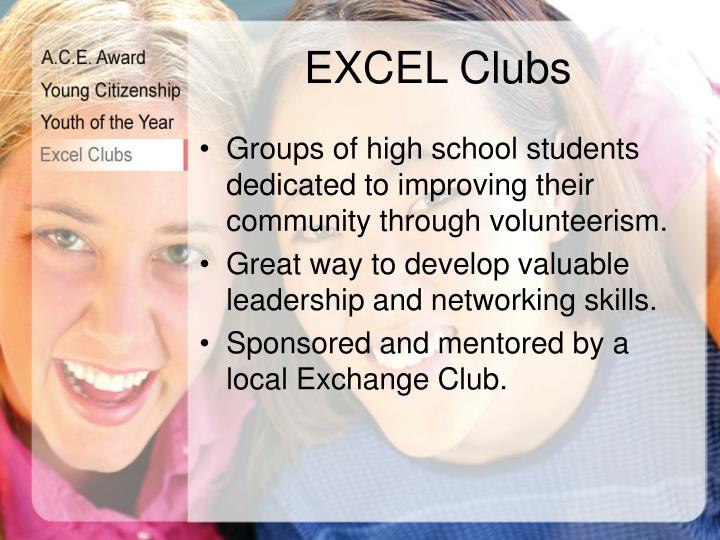 EXCEL Clubs