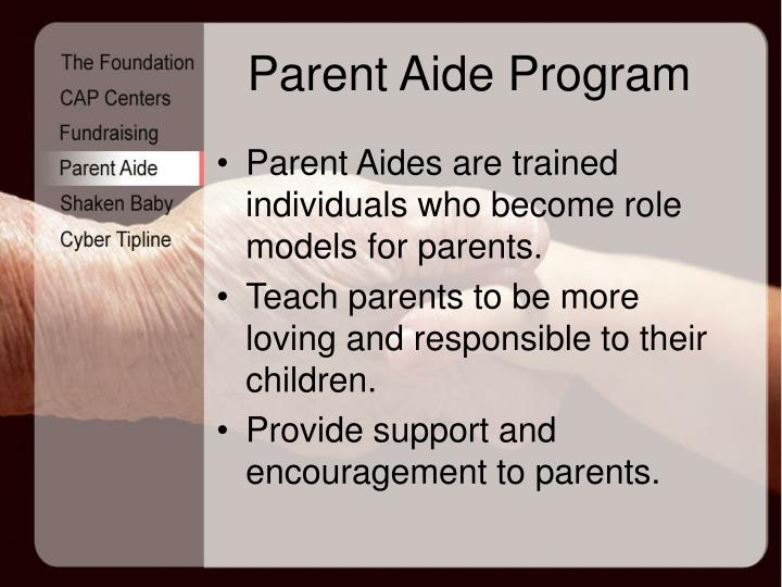 Parent Aide Program