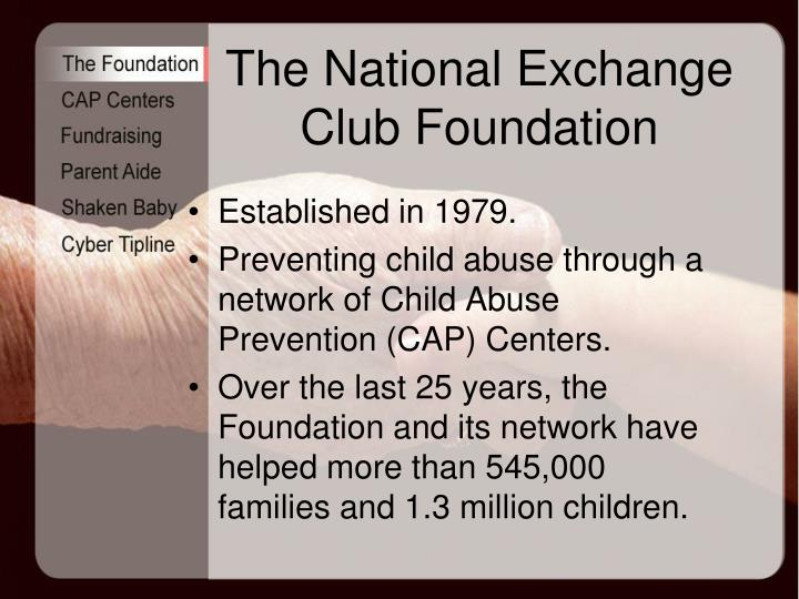 The National Exchange Club Foundation