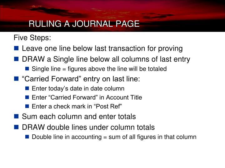 Five Steps: