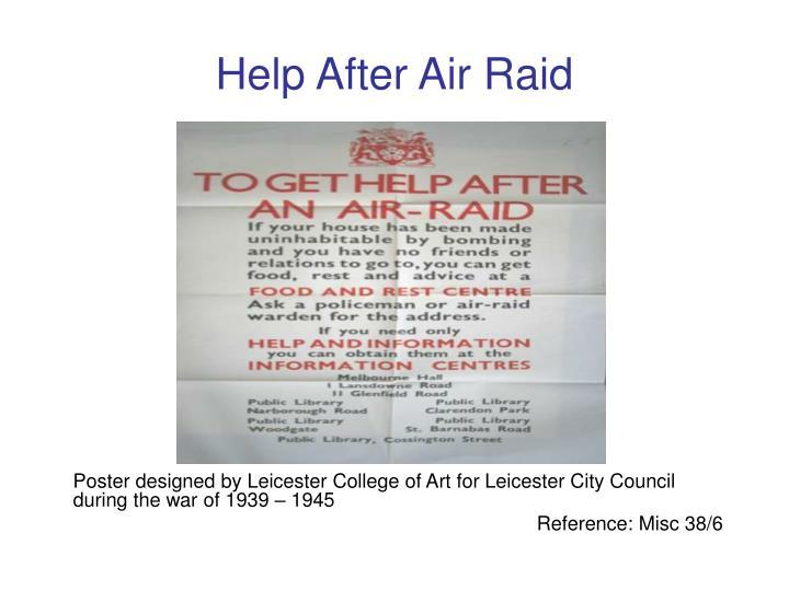 Help After Air Raid