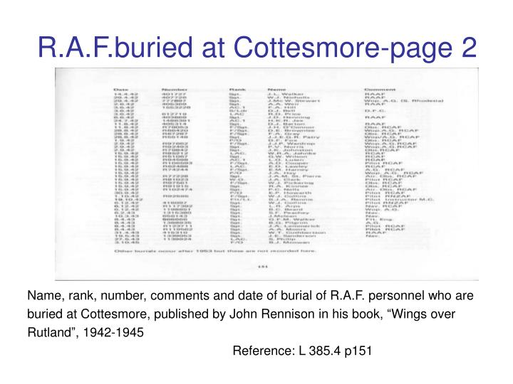 R.A.F.buried at Cottesmore-page 2