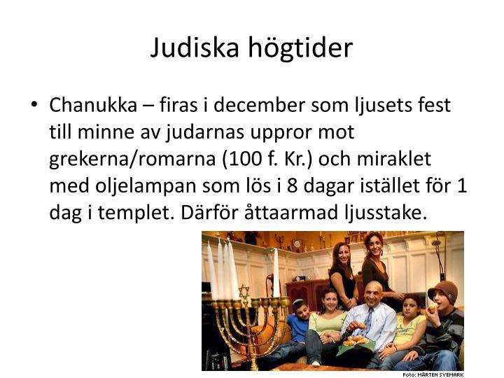 Judiska högtider