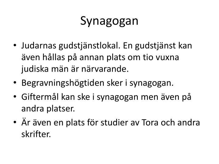 Synagogan