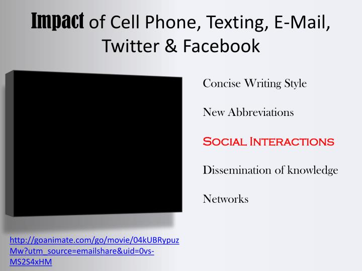 Effects of Email on Communication