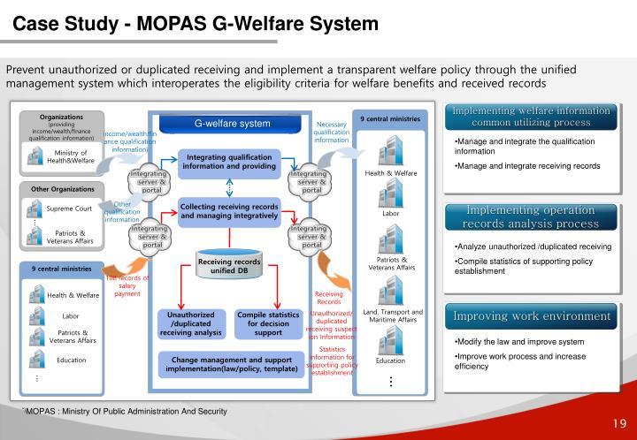 Case Study - MOPAS