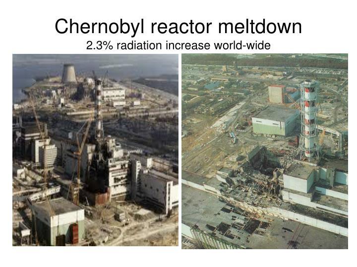 Chernobyl reactor meltdown