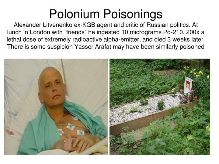 Polonium Poisonings