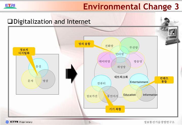 Environmental Change 3