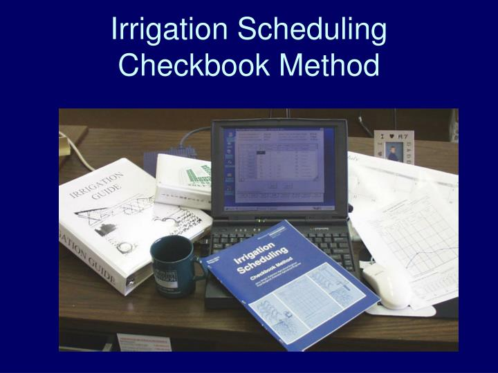 Irrigation Scheduling