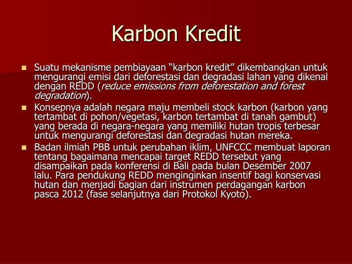 Karbon Kredit