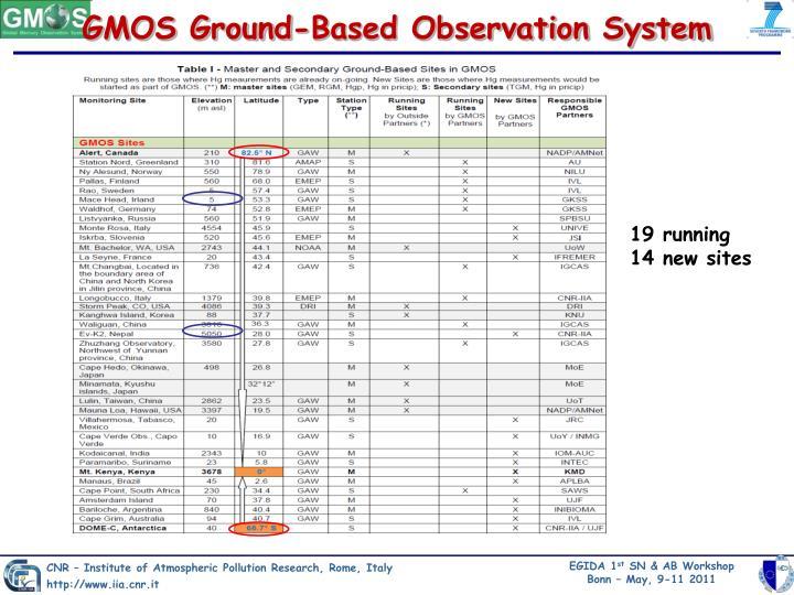 GMOS Ground-Based Observation System