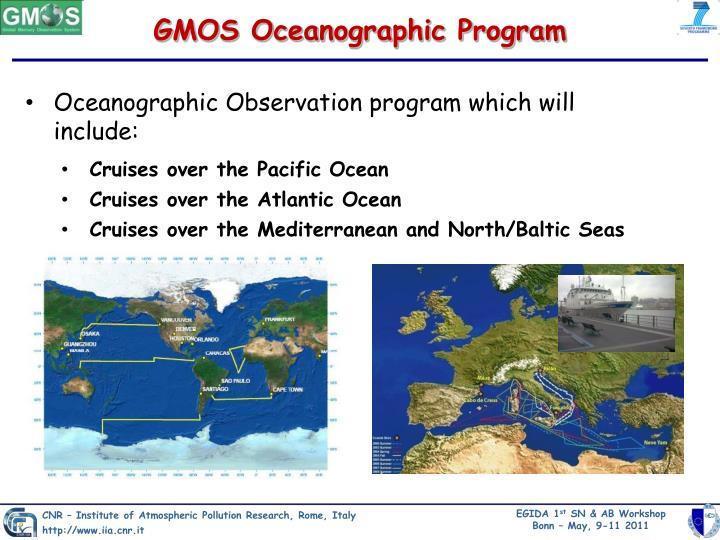 GMOS Oceanographic Program
