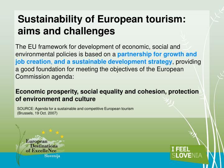 Sustainability of European