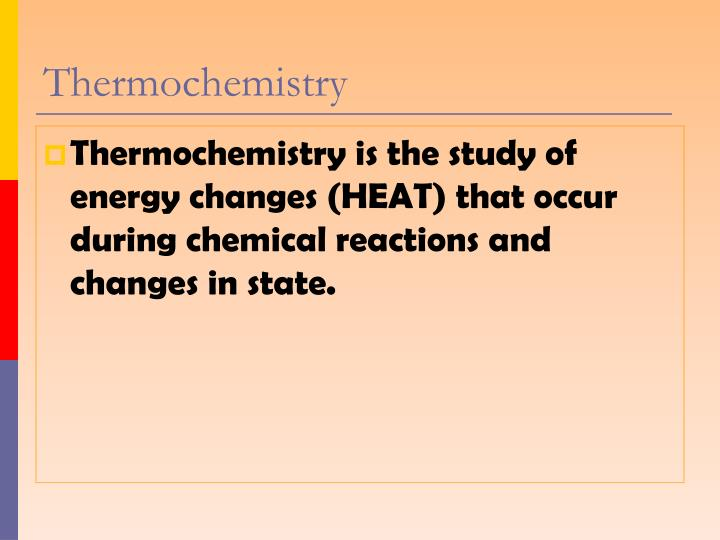 Thermochemistry1