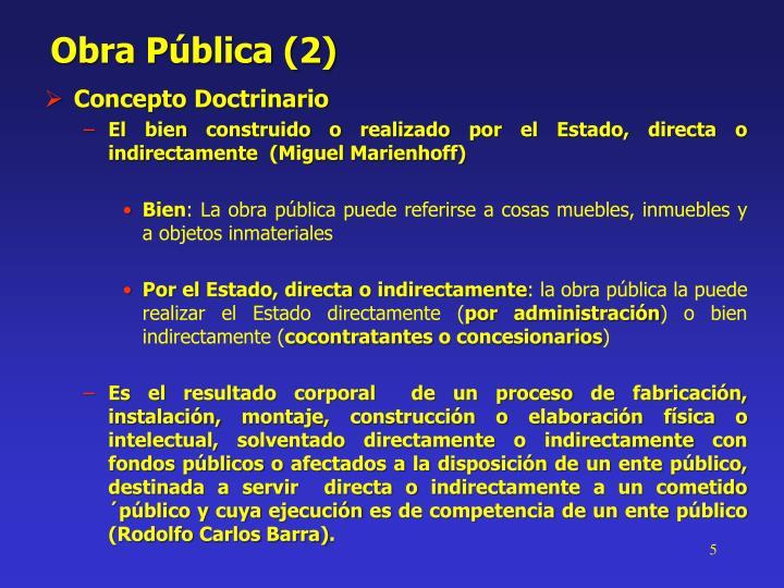 Obra Pública (2)