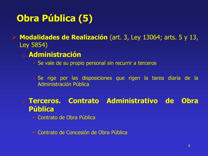 Obra Pública (5)
