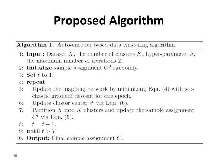 Proposed Algorithm