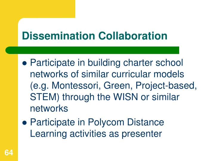 Dissemination Collaboration