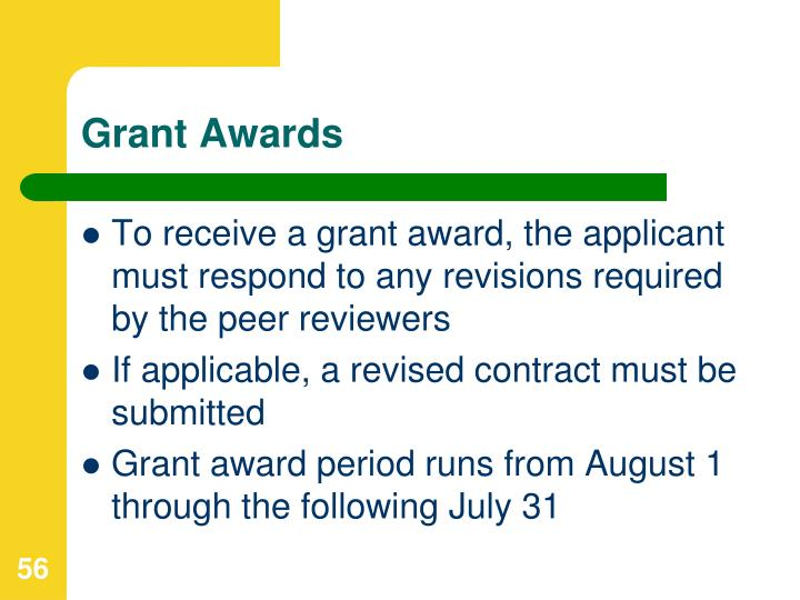 Grant Awards