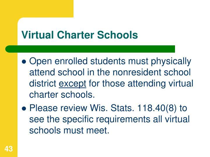 Virtual Charter Schools