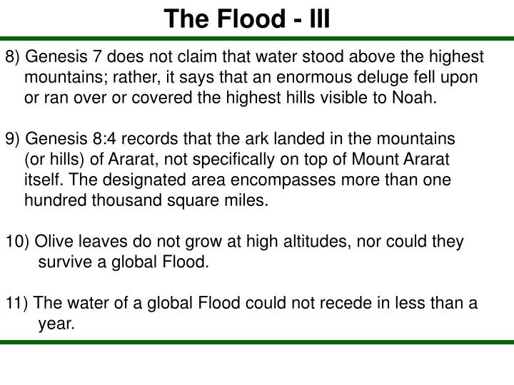 The Flood - III