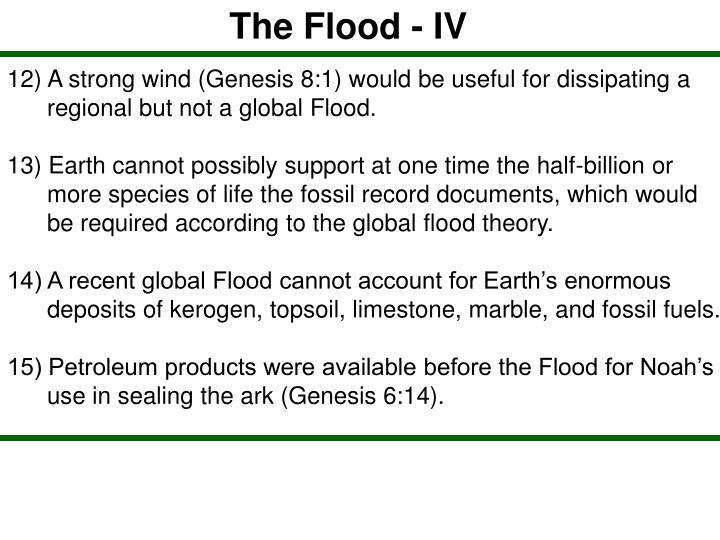 The Flood - IV