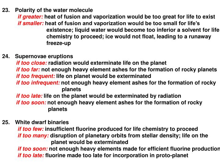 Polarity of the water molecule