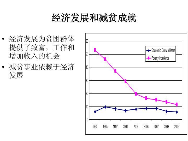 经济发展和减贫成就