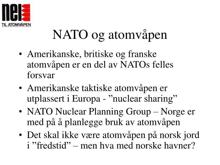 NATO og atomvåpen