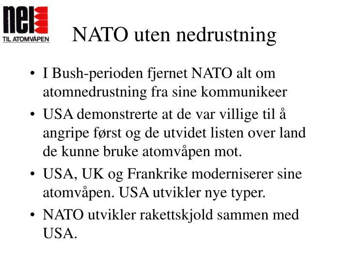 NATO uten nedrustning