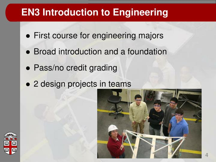 EN3 Introduction to Engineering